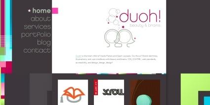 Яркие краски на сайте