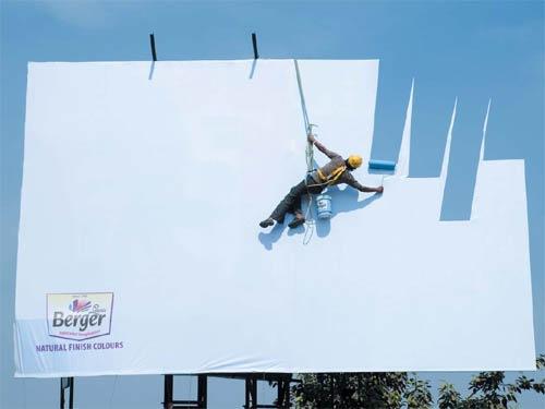 реклама красок