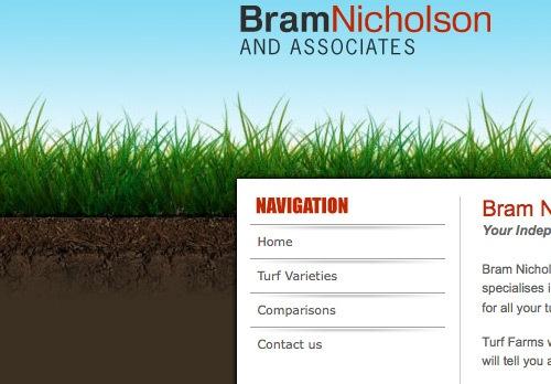 зеленая трава в дизайне