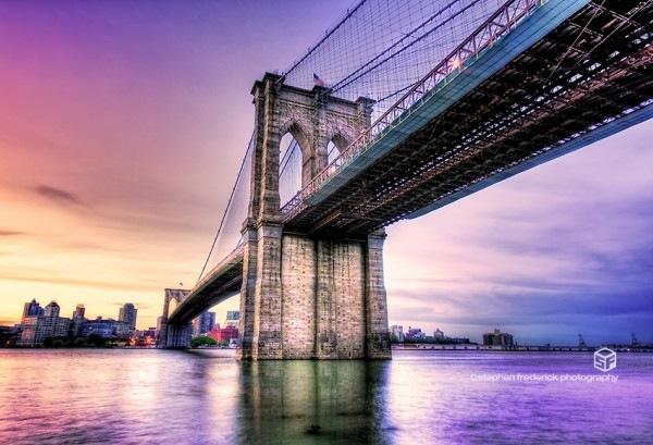 Бруклинский мост хдр