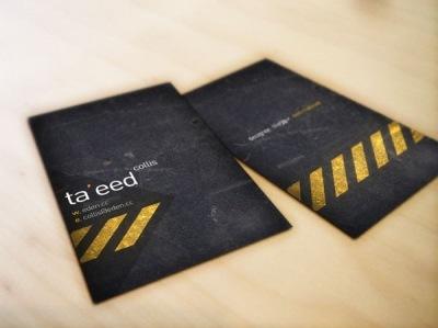 создание макета визитки