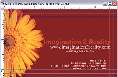 Туториал и шаблоны для создания визиток в фотошопе