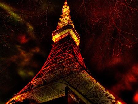Башня Токио ХДР
