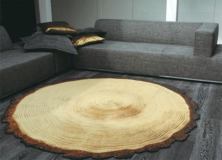 Древесный коврик