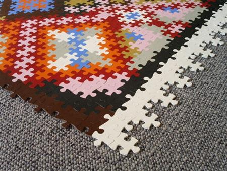 Персидский коврик-пазлы