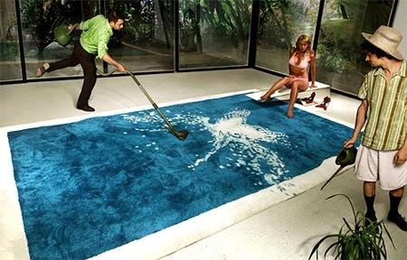 Коврик-бассейн