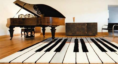 коврик фортепиано