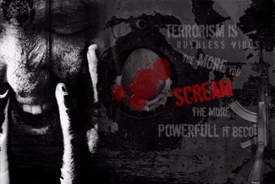антитеррористический постер