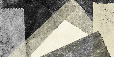 19 кистей-кусочков бумаги