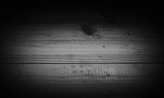 Простой деревянный пол