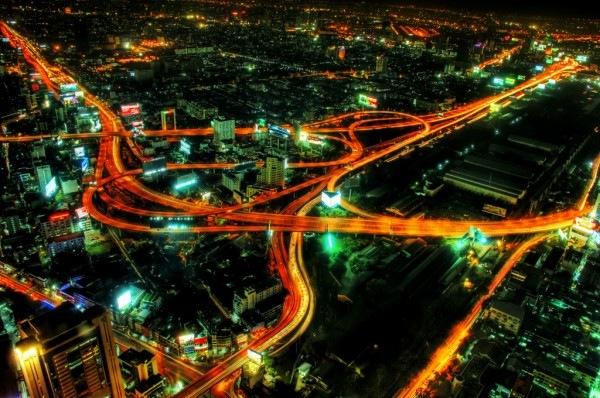 трассы Бангкока хдр