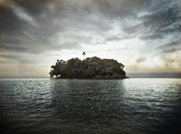 хдр фотография острова