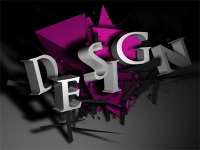 3д типографические тексты