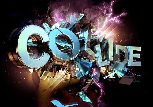 туториал создания 4D типографического дизайна