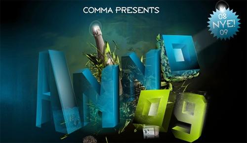 3д типографика в дизайне постеров