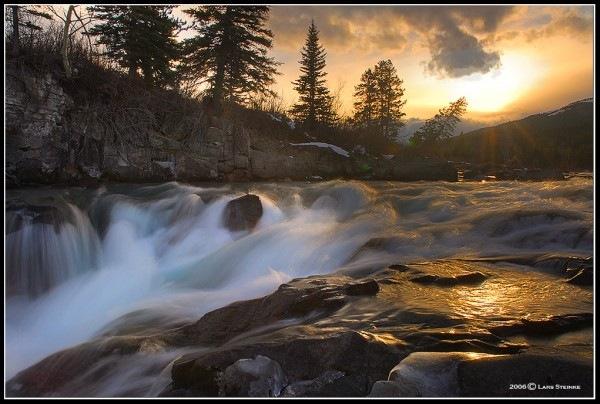 хдр водопад