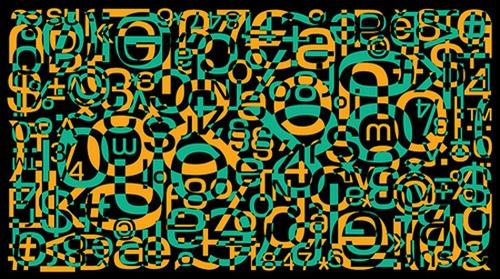 типографическая мозаика