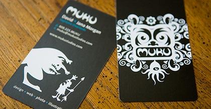 визитки с смешными монстрами