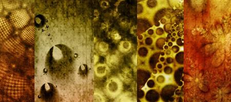 5 фрактальных гранжевых кистей для фотошопа