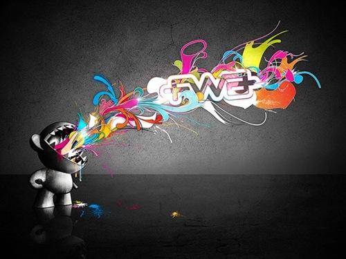 креативные FWA обои для рабочего стола