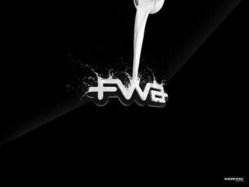 обои FWA молоко