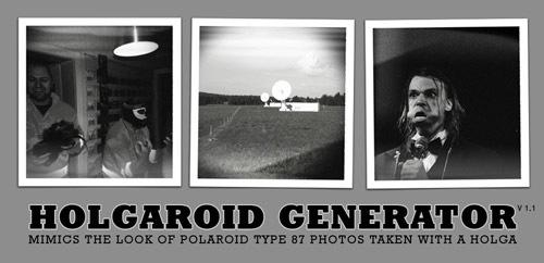 Черно-белый генератор HolgaRoid