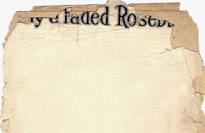 Реалистичная старая бумажная текстура