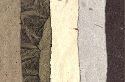 Природные бумажные текстуры