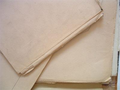 Набор старых бумаг