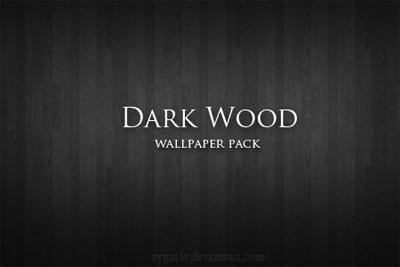 Темное дерево