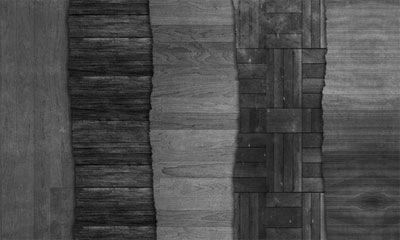 Набор темных деревянных текстур