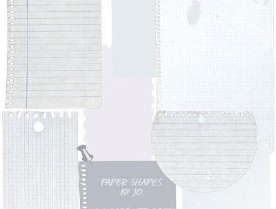 15 слоев бумаги для фотошопа
