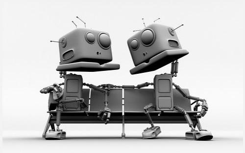 забавные роботы на рабочий стол