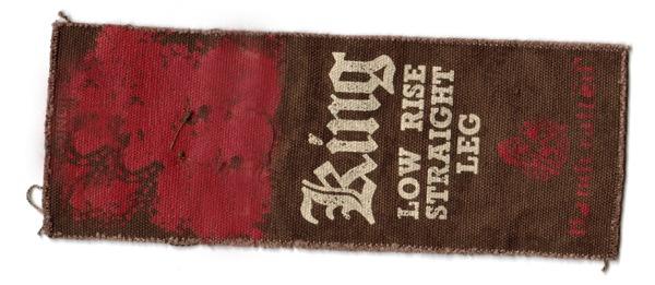 текстура ткани с надписями