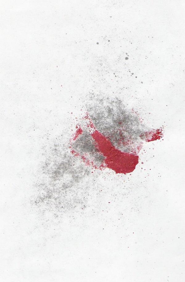 размазанная краска