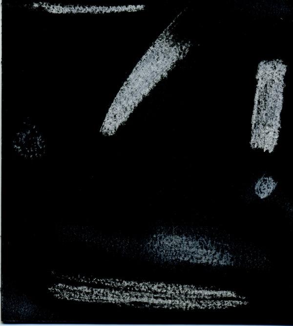 белые потертые полосы на черном фоне