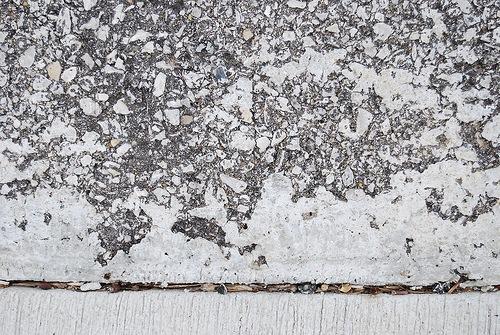 Пятна на бетоне