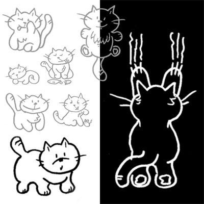 кисти-коты