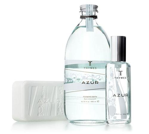 дизайн для парфимерии Azur