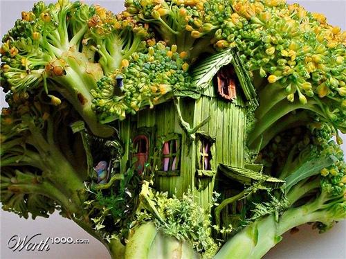 домик-брокколи