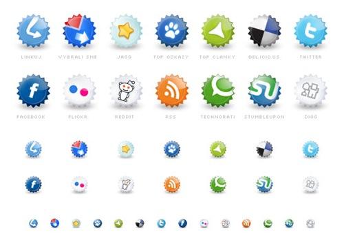 иконки-социальных-сетей-в-виде-пробок