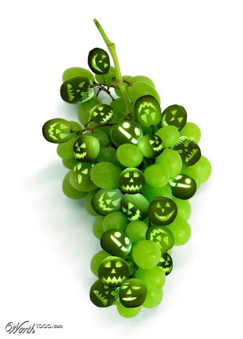 виноград-фонарики
