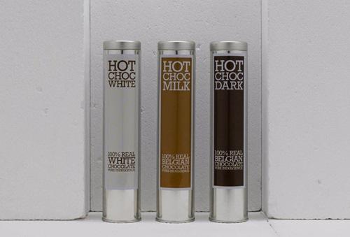 рекламный дизайн для шоколада