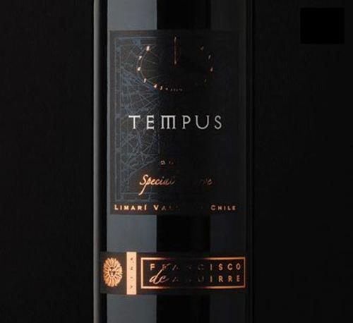 стильная винная бутылка