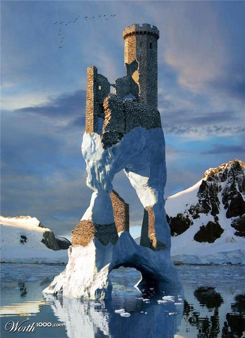 замок айсберг