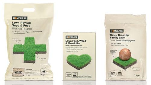 пакеты с декоративной травой