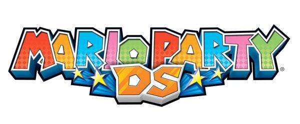 красочный логотип Mario Party