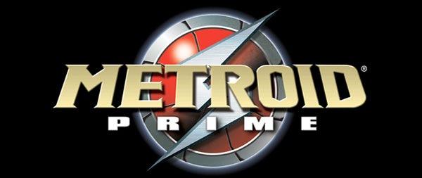 логотип игры Metroid