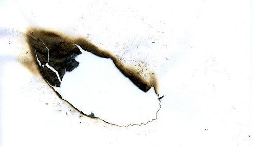 Текстура выжженной бумаги