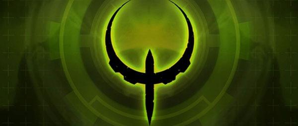 креативный логотип Quake
